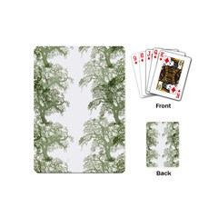 Trees Tile Horizonal Playing Cards (mini)