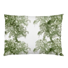 Trees Tile Horizonal Pillow Case (two Sides)
