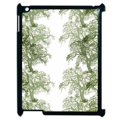 Trees Tile Horizonal Apple Ipad 2 Case (black) by Nexatart