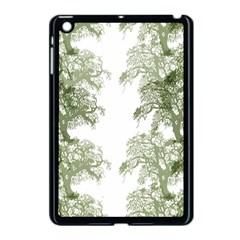 Trees Tile Horizonal Apple Ipad Mini Case (black)