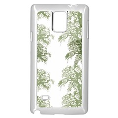 Trees Tile Horizonal Samsung Galaxy Note 4 Case (white)