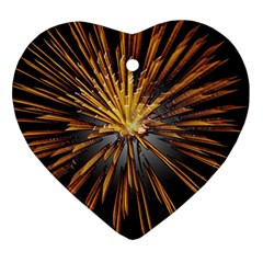 Pyrotechnics Thirty Eight Ornament (heart)
