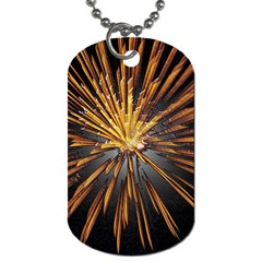 Pyrotechnics Thirty Eight Dog Tag (one Side) by Nexatart