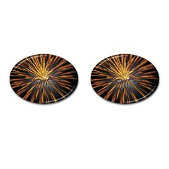 Pyrotechnics Thirty Eight Cufflinks (oval)
