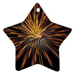Pyrotechnics Thirty Eight Star Ornament (two Sides)