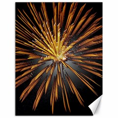 Pyrotechnics Thirty Eight Canvas 18  X 24