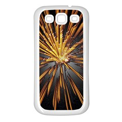 Pyrotechnics Thirty Eight Samsung Galaxy S3 Back Case (white) by Nexatart