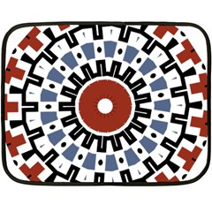 Mandala Art Ornament Pattern Double Sided Fleece Blanket (mini)