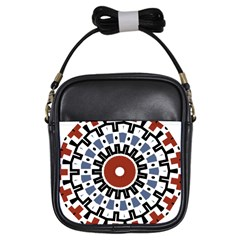 Mandala Art Ornament Pattern Girls Sling Bags by Nexatart