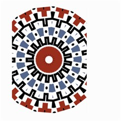 Mandala Art Ornament Pattern Large Garden Flag (two Sides) by Nexatart