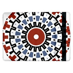 Mandala Art Ornament Pattern Samsung Galaxy Tab Pro 12 2  Flip Case