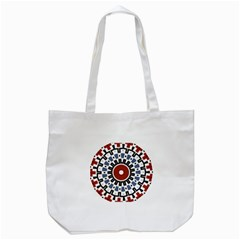 Mandala Art Ornament Pattern Tote Bag (white)