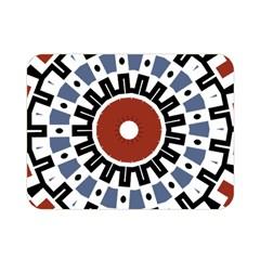 Mandala Art Ornament Pattern Double Sided Flano Blanket (mini)  by Nexatart