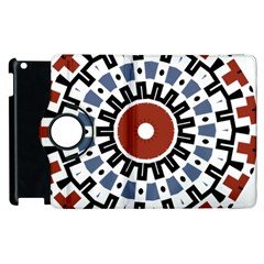 Mandala Art Ornament Pattern Apple Ipad 2 Flip 360 Case by Nexatart