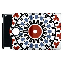 Mandala Art Ornament Pattern Apple Ipad 3/4 Flip 360 Case by Nexatart