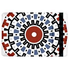 Mandala Art Ornament Pattern Ipad Air 2 Flip