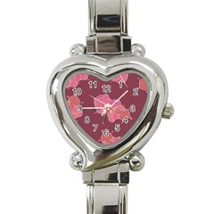 Plumelet Pen Ethnic Elegant Hippie Heart Italian Charm Watch