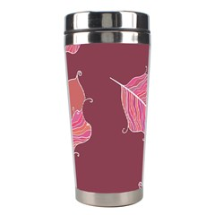 Plumelet Pen Ethnic Elegant Hippie Stainless Steel Travel Tumblers