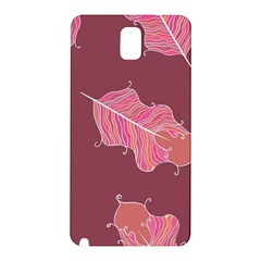 Plumelet Pen Ethnic Elegant Hippie Samsung Galaxy Note 3 N9005 Hardshell Back Case by Nexatart