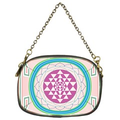 Mandala Design Arts Indian Chain Purses (two Sides)  by Nexatart