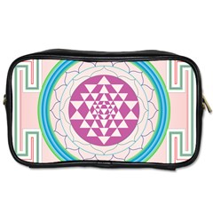 Mandala Design Arts Indian Toiletries Bags 2 Side