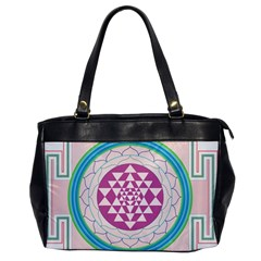 Mandala Design Arts Indian Office Handbags by Nexatart
