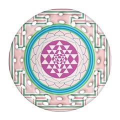 Mandala Design Arts Indian Ornament (round Filigree) by Nexatart