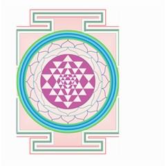 Mandala Design Arts Indian Large Garden Flag (two Sides) by Nexatart
