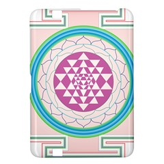 Mandala Design Arts Indian Kindle Fire Hd 8 9  by Nexatart