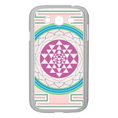 Mandala Design Arts Indian Samsung Galaxy Grand Duos I9082 Case (white)