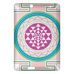 Mandala Design Arts Indian Amazon Kindle Fire Hd (2013) Hardshell Case