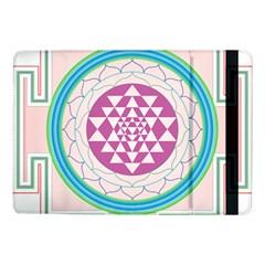 Mandala Design Arts Indian Samsung Galaxy Tab Pro 10 1  Flip Case by Nexatart