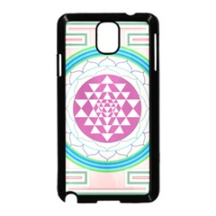 Mandala Design Arts Indian Samsung Galaxy Note 3 Neo Hardshell Case (black)