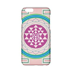 Mandala Design Arts Indian Apple Iphone 6/6s Hardshell Case by Nexatart