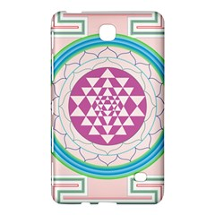 Mandala Design Arts Indian Samsung Galaxy Tab 4 (7 ) Hardshell Case  by Nexatart