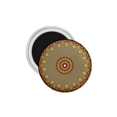 Mandala Art Ornament Pattern 1 75  Magnets