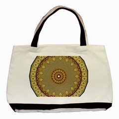 Mandala Art Ornament Pattern Basic Tote Bag