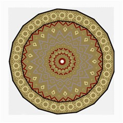Mandala Art Ornament Pattern Medium Glasses Cloth by Nexatart