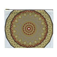 Mandala Art Ornament Pattern Cosmetic Bag (xl)
