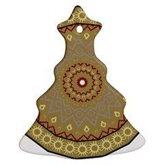 Mandala Art Ornament Pattern Christmas Tree Ornament (two Sides)