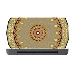 Mandala Art Ornament Pattern Memory Card Reader With Cf by Nexatart