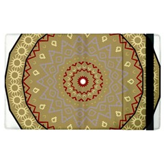 Mandala Art Ornament Pattern Apple Ipad 2 Flip Case by Nexatart