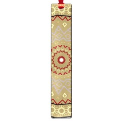 Mandala Art Ornament Pattern Large Book Marks