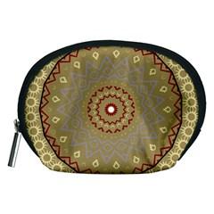 Mandala Art Ornament Pattern Accessory Pouches (medium)