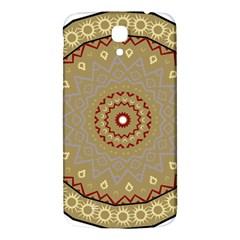 Mandala Art Ornament Pattern Samsung Galaxy Mega I9200 Hardshell Back Case