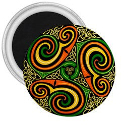 Celtic Celts Circle Color Colors 3  Magnets
