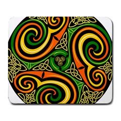 Celtic Celts Circle Color Colors Large Mousepads