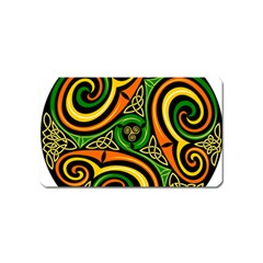 Celtic Celts Circle Color Colors Magnet (name Card)