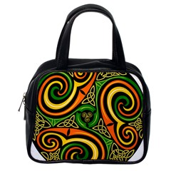 Celtic Celts Circle Color Colors Classic Handbags (one Side)