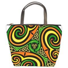 Celtic Celts Circle Color Colors Bucket Bags